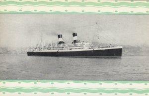 Ocean Liner DUILIO , Navigazione Generale Italiana , 1920-40s