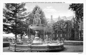 6582  PA  Shippensburg  State Teachers College  The fountain