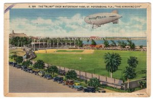 St. Petersburg, Fla., The Blimp Over Waterfront Park