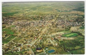 1950's/60's Aerial View, Town of Gettysburg, PA Chrome Postcard