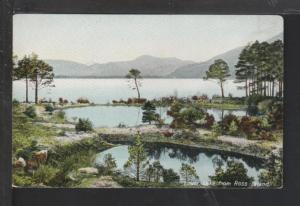 Lower Lake From Ross Island Postcard