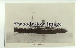 f0085 - L&SWR Ferry - Alberta - postcard