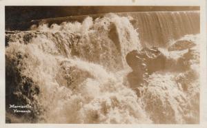 RP: MORRISVILLE , Vermont , PU-1908 ; Morrisville Falls
