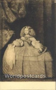La Infanta Dona Maria Teresa de Austria, Madrid Spain Tarjeta Postal Unused