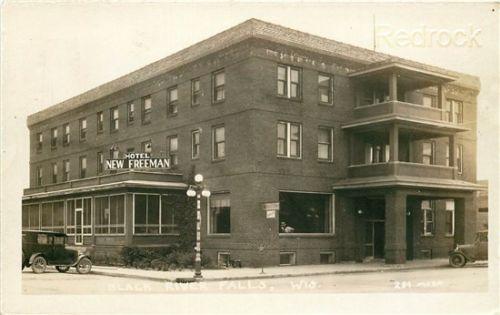 Wi Black River Falls Wisconsin Hotel New Freeman Moen