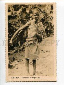 3053776 Eritrea Portatrice d'acqua girl water seller  VINTAGE