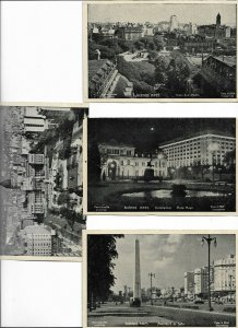 Argentina Buenos Aires Postcard Lot of 9   01.18