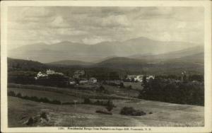 Franconia NH Pecketts-On-Sugar Hill c1910 Real Photo Postcard
