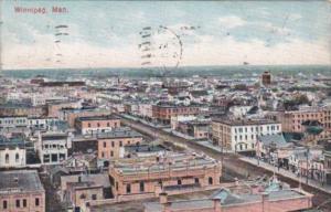 Canada Winnipeg General View 1912