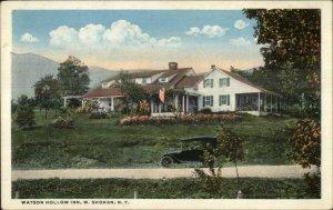 West Shokan NY Watson Hollow Inn c1920 Postcard