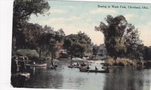 Boating at Wade Park,  Cleveland,  Ohio,  PU_1910