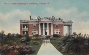 Illinois Damnvrille Judge Kimbroughs Residence