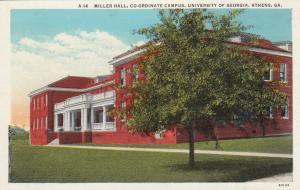 ATHENS , Georgia , 1910s ; U.of G. ; Miller Hall, Co-Ordinate Campus
