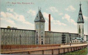 Royal Mills Riverpoint RI Those Island c1912 Postcard F85