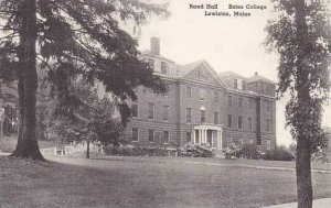 Maine Lewiston Rand Hall Bates College Albertype