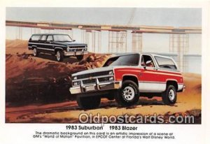 1983 Suburban, 1983 Blazer Chevrolet Auto, Car Unused