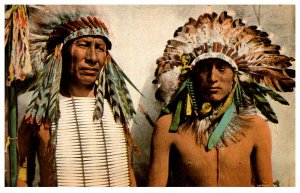 American Indian  2 Chiefs , Reproduction