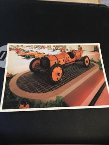 Vtg Postcard: 1911 Marmon Wasp , First Indy 500 Winner, Driven By Ray Harroun