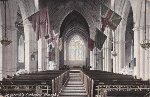 St Patrick's Cathedral [Interior], Co. Armagh, Northern Ireland , PU-1910