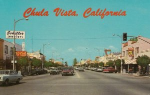 CHULA VISTA , California , 50-60s ; Third Avenue
