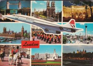 England London Multi View With British Airways Concord 1978