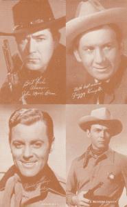 Cowboys:John Mack Brown, Fuzzy Knight, Allan Lane, Sheriff , 30s