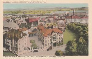 Archbishop's Palace and Laval University - Quebec QC, Quebec, Canada - WB