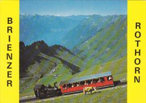 Train Brienz-Rothorn Bahn Interlaken Switzerland