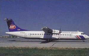 YUGOSLAV AIRLINES AEROSPATIALE ATR-72