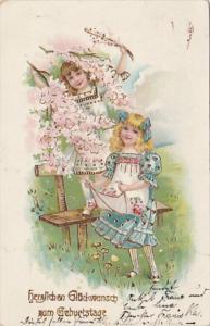 Birthday Herzlichen Glueckwunsch Zum Geburtstage 1911