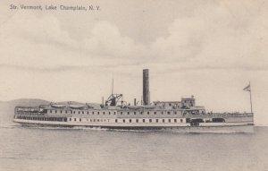 Steamer VERMONT , Lake Champlain , New York , 00-10s