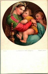Rafaello Sanzio Firenze La Madonna Della Seggioia Par Stengel & Co No.29827