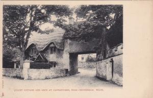 Quaint Cottage & Arch at CASTLECOMBE, near Chippenham, Wiltshire, England, 01-07