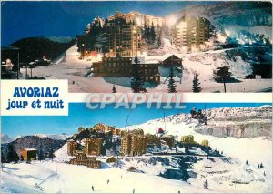 Postcard Modern Avoriaz free resort