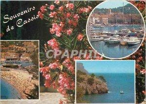 Modern Postcard Cassis Memories
