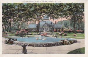 Illinois Peoria Conservatory In Glen Oak Park