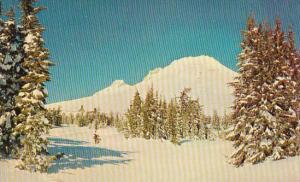 Mount Hood And Timberline Lodge At Midwinter Mount Hood Oregon
