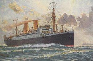 Ocean Liner SIERRA , LLOYD NORTE ALEMAN (De Bremen) , 1910-30s