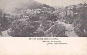 Fujiya Hotel Miyanoshita, Natural Hot Springs, 2 1/2 Hours From Yokohama, Jap...