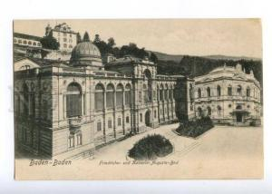 151007 GERMANY BADEN BADEN Augusta-Bad Vintage postcard