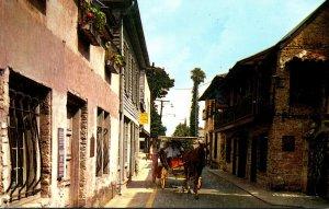 Florida St Augustine Quaint Old St George Street