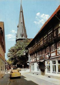 Alfeld Leine Burgerschanke und St. Nicolai Vintage Cars Auto