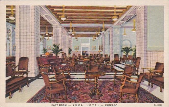 Illinois Chicago East Room Y M C A Hotel Curteich
