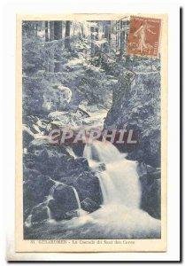 Gerardmer Old Postcard The cascade of tanks jump