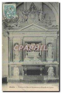 Old Postcard Moulins Tomb of Montmorency Duke Chapel Lycee