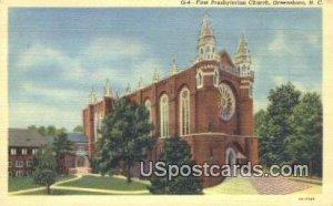 First Presbyterian Church in Greensboro, North Carolina