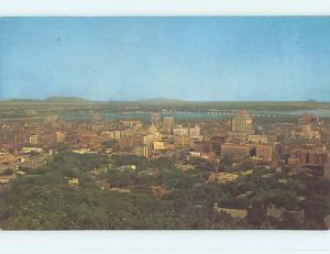 Unused Pre-1980 TOWN VIEW SCENE Montreal Quebec QC p8703