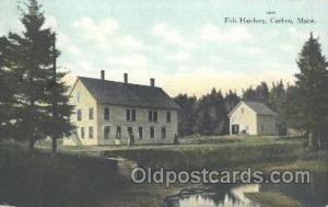 Fish Hatchery, Caribou, Maine USA, Fish Hatchery, Caribou, Maine USA, Fishing...