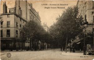 CPA LYON-Avenue de Noailles Angle COURS MORAND (427040)