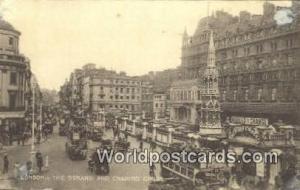 United Kingdom, UK, England, Great Britain Strand & Charing Cross London  Str...